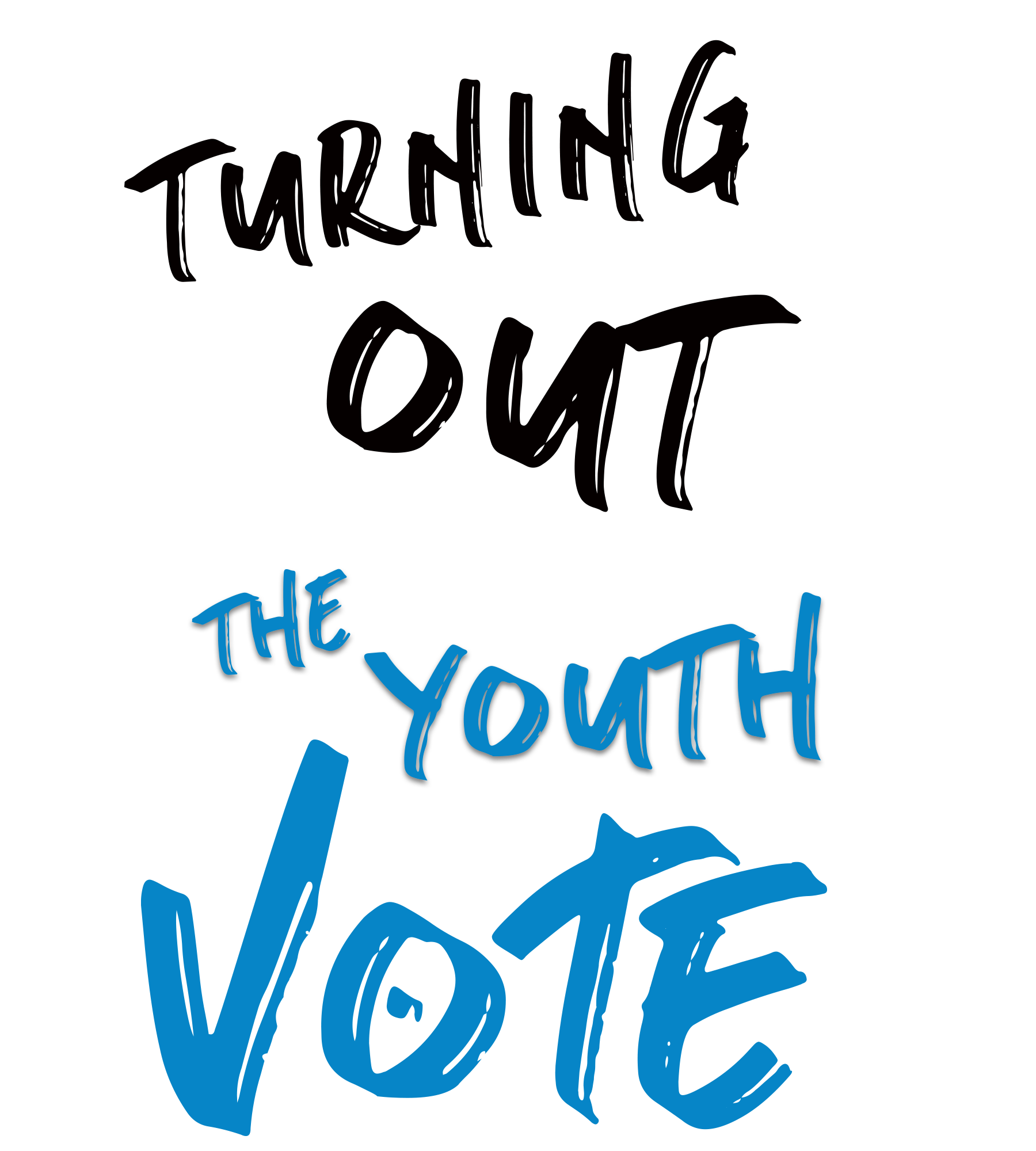 Turning Out: The Youth Vote Logo