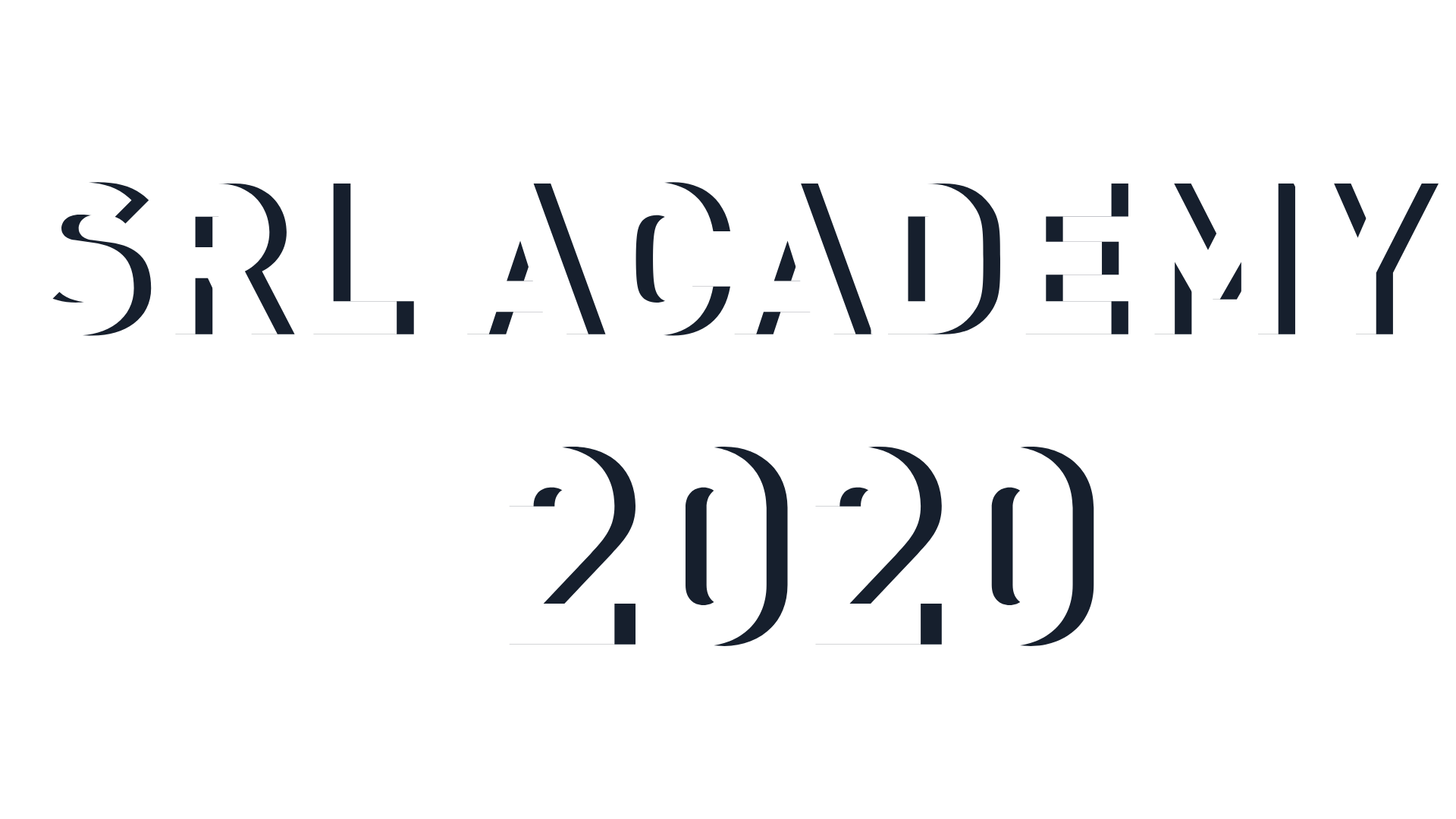 2020 SRL Academy Fellows Logo